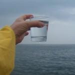 Testimonio con el agua de mar…