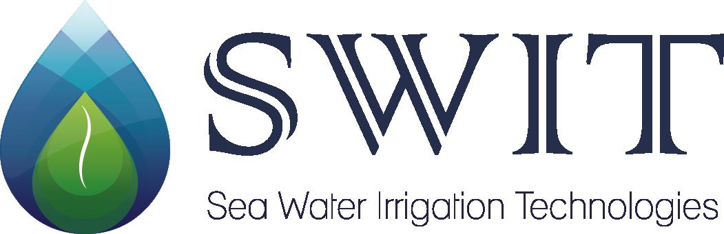 Riego con agua de mar