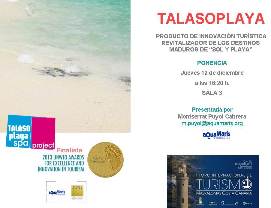Ponencia Talasoplaya_Maspalomas